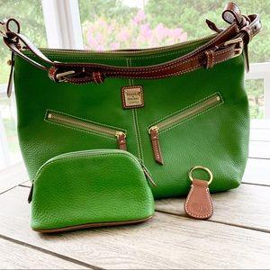 DOONEY & BOURKE Green Mary Satchel